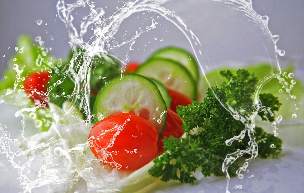 Зеленчуци, водородна вода